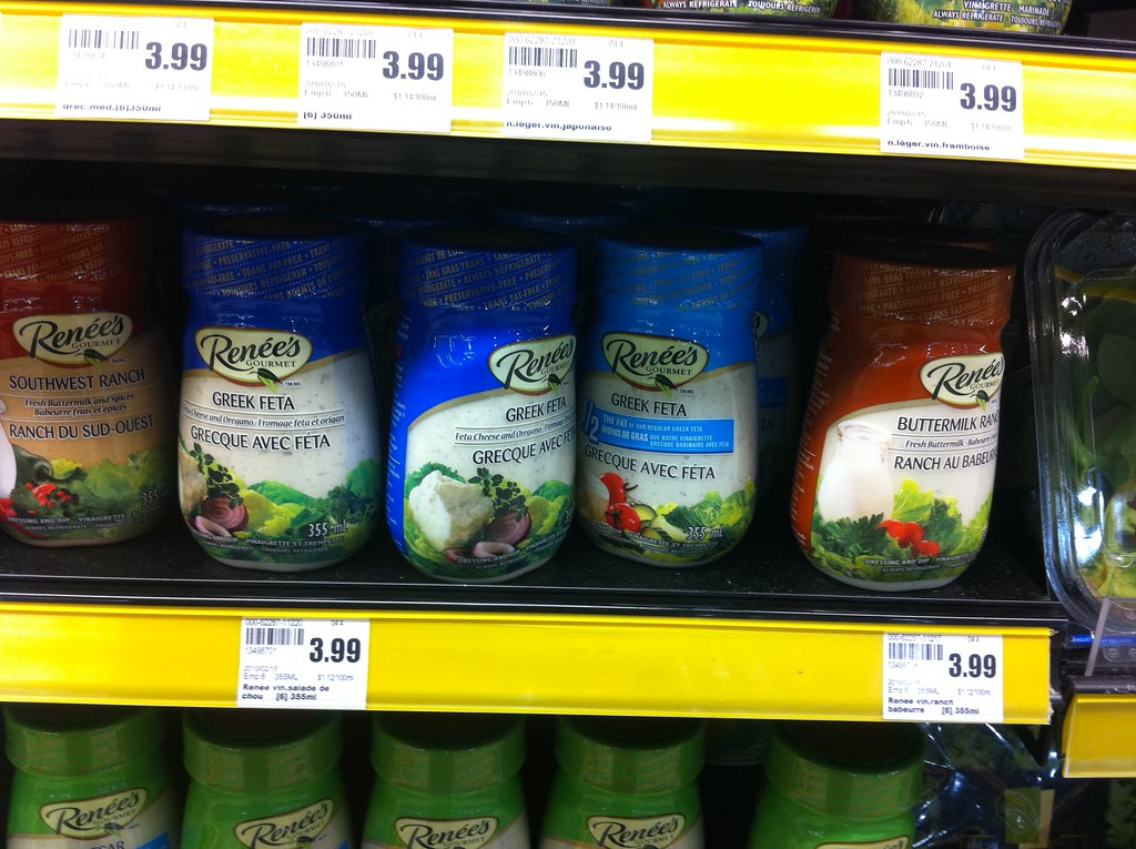 Selection Of Vinaigrettes