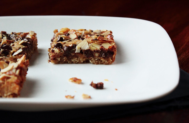 Chocolate Almond Oat Bar