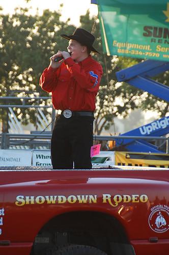 Jacob Nelson Showdown Rodeo Desert Sands