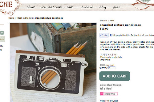snapshot pencil case