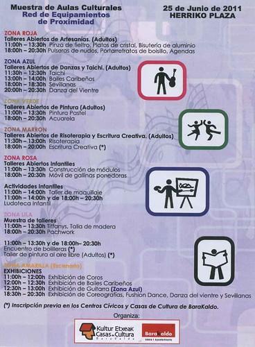 Muestra Aulas Culturales de Barakaldo 2011