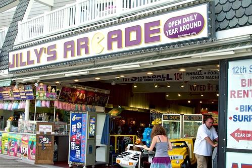 Jilly's Arcade.
