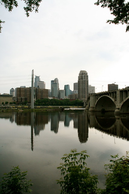 View of downtown MPLS from St. Anthony