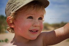 Hello, Summer!! (Didenze) Tags: travel light portrait beach closeup kid sand toddler child naturallight sunny bulgaria firstdayofsummer playful nikolas sozopol 2011 didenze