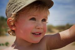 Hello, Summer!! (Didenze) Tags: travel light portrait beach closeup kid sand toddler child naturallight sunny bulgaria firstdayofsummer playful nikolas sozopol 2011 didenze