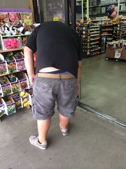 Walmart Chub (I.E. Bear II) Tags: bear hairy man hot sexy guy ass happy furry underwear random fat butt handsome chub bum dude crack belly trail buttcrack builders bubba beerbelly chubby guapo thick gordo panza plumbers asscrack coinslot moobs cofrinho panzon barrigon pansa chonies panson