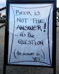 Indeed! (Jaedde & Sis) Tags: sign pub beer blåvand challengefactorywinner thechallengefactory