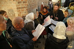 47. Church service in Svyatogorsk / Богослужение в храме г.Святогорска 09.10.2016