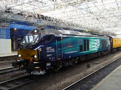 68016 at Carlisle (26/9/16) (*ECMLexpress*) Tags: drs class 68 diesel locomotive 68016 carlisle wcml fearless