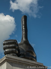 Thumbs Up. (keithhull) Tags: fourthplinth trafalgarsquare reallygood davidshirley sculpture london