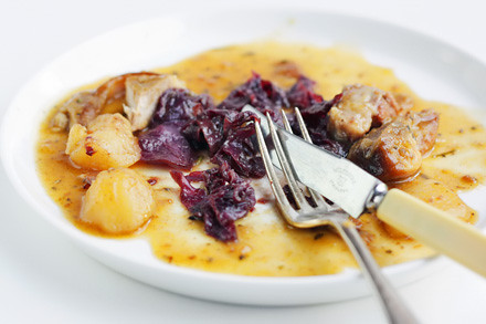 Pork and Beer Stew (Autumn Pig and Beer) - Citrus and Candy