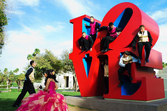 L.O.V.E. (Araakii) Tags: leica wedding arizona sculpture art robert phoenix zeiss 35mm library indiana rangefinder center mexican installation carl scottsdale m9 centerforthearts biogon3528zm