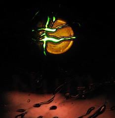 Starquake (Sea Moon) Tags: burn laser star flares quakes neutron spaceart plastic led melt light holes
