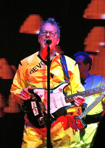 Devo in concert in Austin, TX