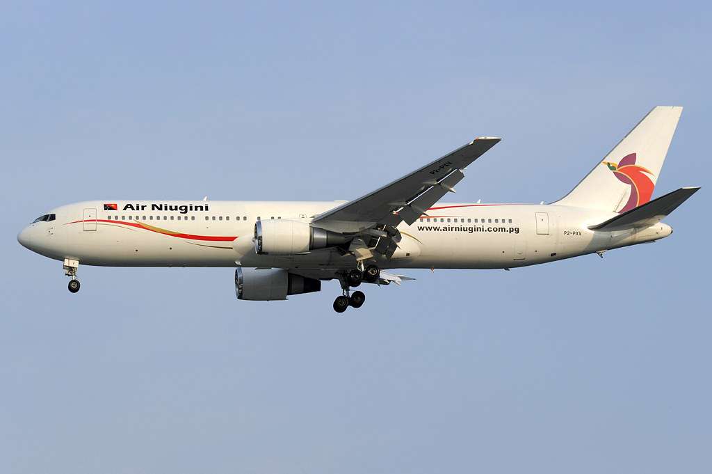 Air Niugini Boeing 767-300ER (P2-PXV) DSC2243