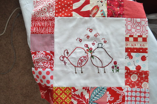 Birdie Stitches BOM ~ February