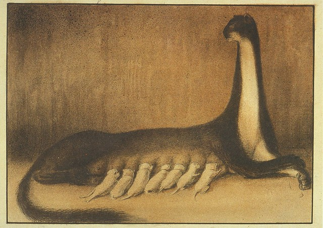 Alfred Kubin - The Brood, 1903