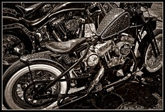Bobber (Wilder PhotoArt (It's Physical Therapy Time !)) Tags: photoshop canon stpetersburg flickr artistic expression misc motorcycles oldschool harley harleydavidson motorcycle bikers choppers motorcycleart showandshine artisticexpression americaamerica fineshot anawesomeshot impressiveimages irresistiblebeauty bestthebest theperfectphotographer
