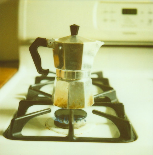 the espresso maker is a gorgeous thing.