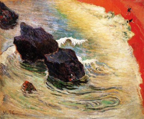 paul-gauguin-the-wave by MorCheebs