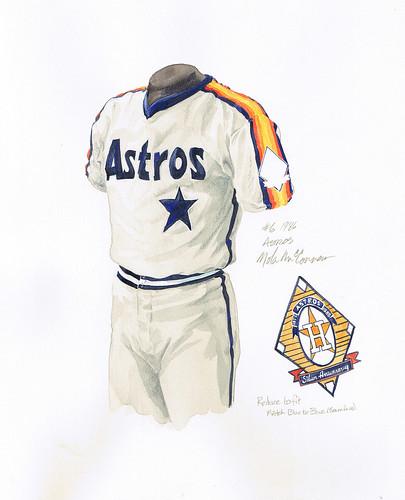 old houston astros uniforms. houston astros uniform history