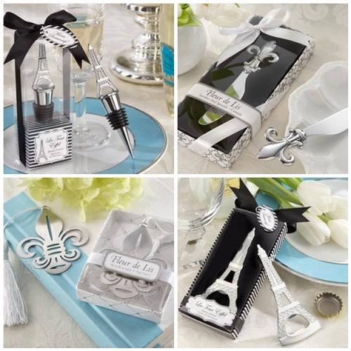 Paris Wedding Favors - The Eiffel Tower & Fleur de Lis Get Practical ...