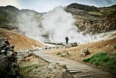 - (SFD (professional loungist)) Tags: nikon mud timber steve pools boardwalk sulphur hotsprings krysuvik seltun geothermalactivity d80