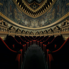 confusion-of-horizons (fusion-of-horizons) Tags: light music monument architecture de photography hall photo concert fotografie photos interior decoration style romania classical fresco bucharest auditorium atheneum bucuresti romanian neoclassical fresca ateneu lumina stil shos