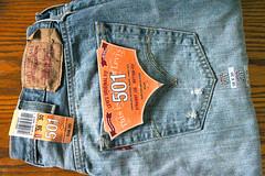 Levis 501 Button Down Pre-Shrunk Jeans (38-30) (mastercontrol200) Tags: jeans preshrunk buttonfly buttondown levis501jeans