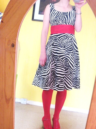 Zebra Sis Boom Jamie dress