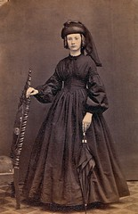Miss Maggie Webber in Mourning, Albumen Carte de Visite with Tax Stamp, 1864-1866 (lisby1) Tags: portrait men history loss fashion century vintage children photography death early mourning 19thcentury 1800s victorian jewelry funeral mementomori tintype ambrotype cdv cartedevisite token widow daguerreotype regency edwardian grief geneology geneaology 19th customs earlyphotography grieving nineteenthcentury cabinetcard vinatge widowsweeds hairwork funeralcustoms socialcustoms funeralcustomers
