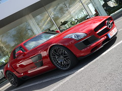 Brabus B 63 S (Niklas Emmerich Photography) Tags: b red black germany mercedes benz s 63 sls amg brabus bottrop 2011 transaxle worldcars