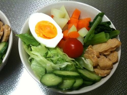 朝食サラダ(2011/4/11)