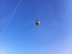 ...into the blue... (''Tom'') Tags: blue cloud sun clouds deutschland himmel wolken dreaming blau iphone trumen