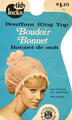 Bouroir Bonnet (incurlers) Tags: vintage hair hairdo cap hairdresser salon rollers bonnet hairstyle hairdressing curlers hairstylist wetset