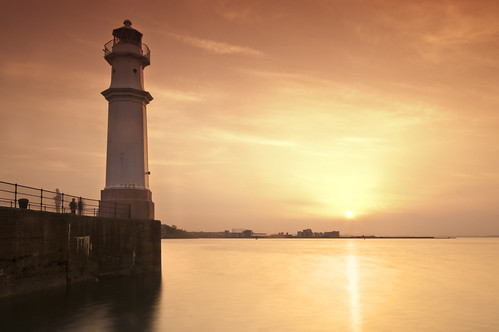 Newhaven Sunset April 10th 2011