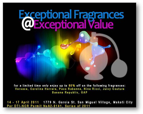 Fragrance and Cosmetic Sale