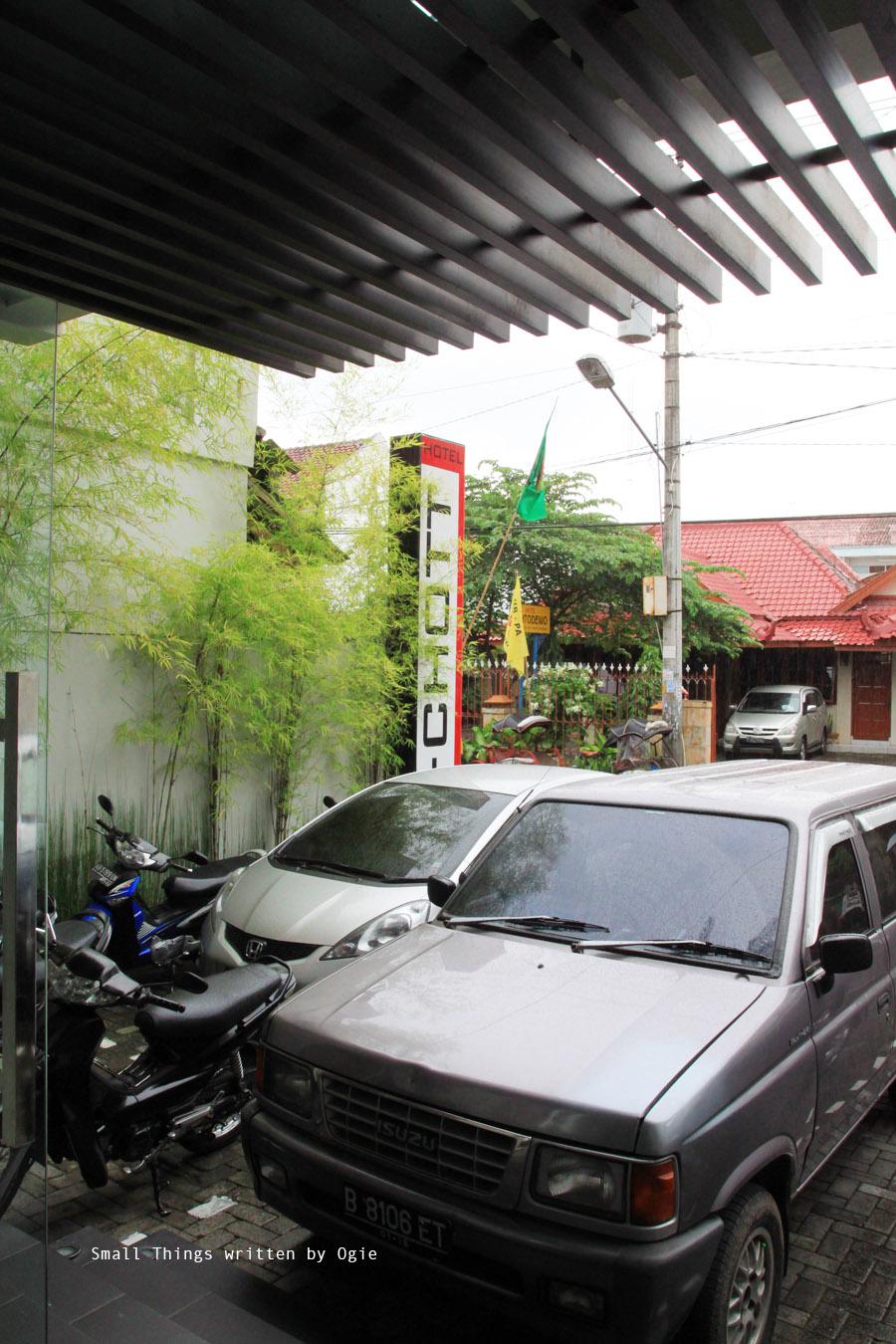 Parking Area Hotel S-CHOTT