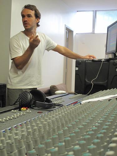 Duda Mello, engenheiro gravação