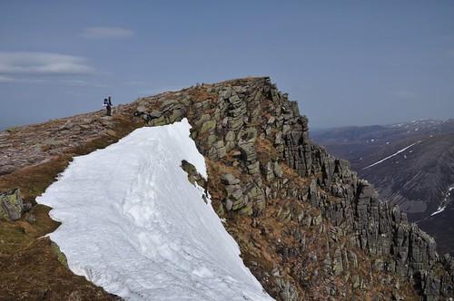 The Top of Sgor Gaoith