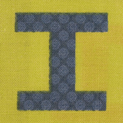 Fabric letter I (Leo Reynolds) Tags: canon eos iso100 ii letter 60mm f80 oneletter iiii letterset 40d hpexif 0033sec grouponeletter xsquarex xleol30x