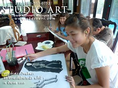 Learning Drawing @ studio art