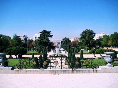 Plaza del Parterre in the Retiro Park