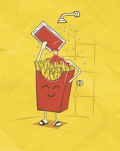 FRENCH-FRIES-SHAMPOO by ospina_oscar