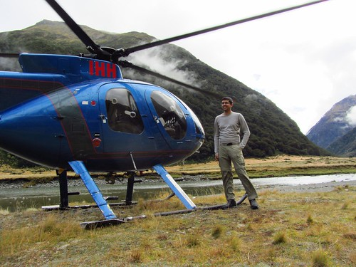 Siberia Wilderness Adventure - helicopter flight, walk, jetboat in Mt Aspiring National Park