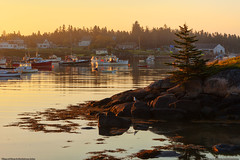 Fishing Village of Corea, Maine (Greg from Maine) Tags: sunrise reflections landscape maine seaport fishingvillage schoodic corea gouldsboro lobsterboats fishingport downeast hancockcounty coreamaine gouldsboromaine