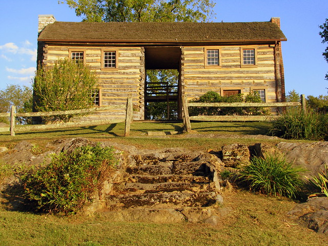 The Edward Cox Log House