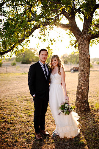 three points ranch wedding