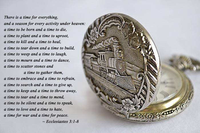 Time&poem