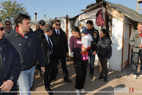 Campi nomadi: sgomberato insediamento abusivo zona Collatina
